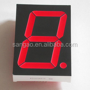 Super Red led 7 segment display 0 56 inch 7 segment display 1 digit led  nixie tube