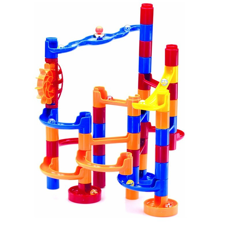 plastic Marble Run Maze with 30 Extra Marbles