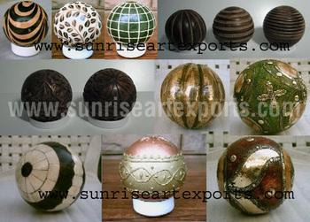 Decorative Balls Deco Deko Home Decor Ball