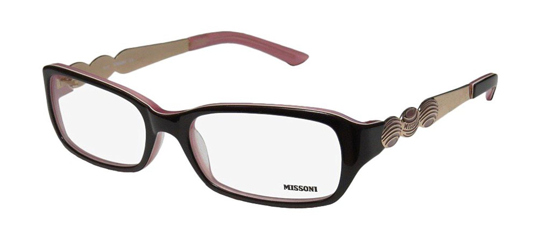 be88a69471 Get Quotations · Missoni 11303 Womens Ladies Designer Full-rim  Eyeglasses Eyewear