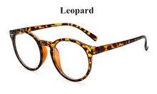 Круглая пластиковая оправа для очков винтажные оправы для очков для женщин и мужчин аксессуары прозрачные линзы очки декоративные oculos de grau(Китай)
