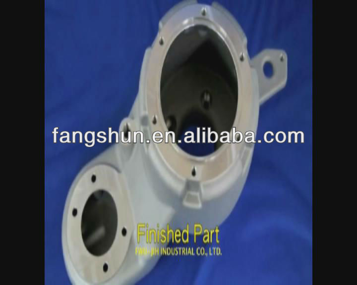 gravity casting mold and mold tube