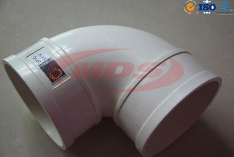 pvc pipe fitting/pipe elbow 45 degree dimensions