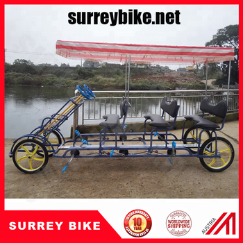 8 Person Surrey Bike With Roof Led Headlight Surrey Bike Trailer - Buy 8  Person Surrey Bike 12 Person Surrey Bike Surrey Bike 6 Person Bike 4 Person