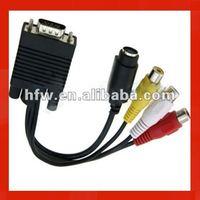 New generic rca male vga female cables