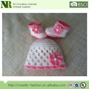 Stricken Baby Neues Design Häkeln Setbaby Hand Stricken Schuhebaby