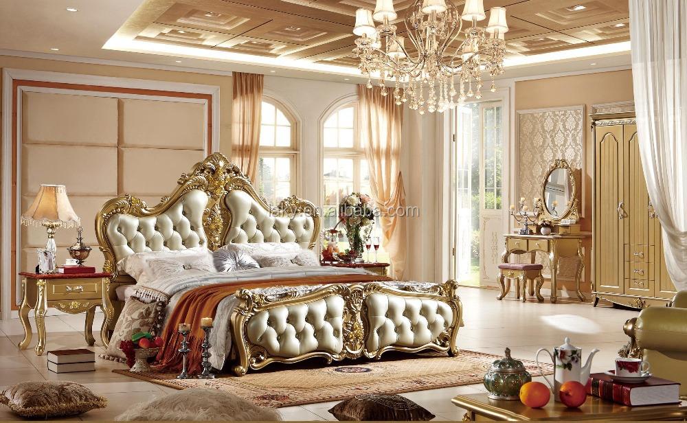 0313 Italian Royal Bedroom Furniture Set - Buy European Style ...