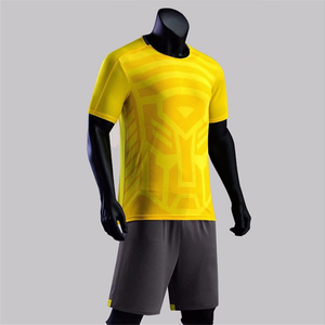 China produce high quality cheap soccer jersey supplier