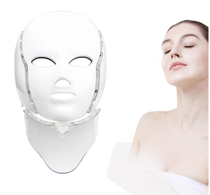 New OEM product 7 Colors LED light PDT therapy Skin Rejuvenation Beauty Facial Mask for home use