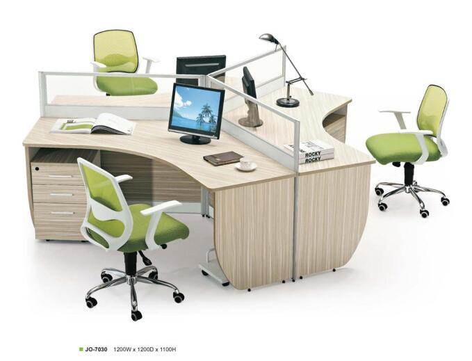 Modern 3 person office workstation/office furniture