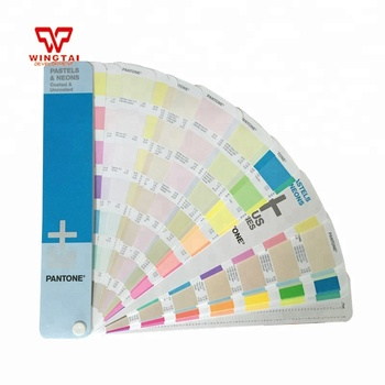 Pantone Pastels Neons Coated Uncoated Color Book Gg1504 Buy