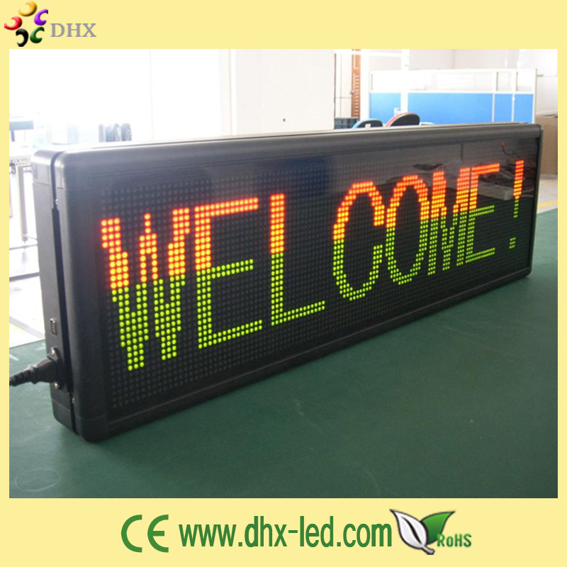 P7.62 led car message moving scrolling sign display