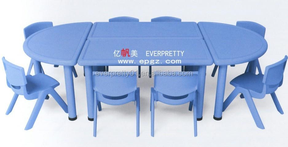 Enfants table avec chaise pour l 39 cole maternelle nursery for Table enfant avec chaise