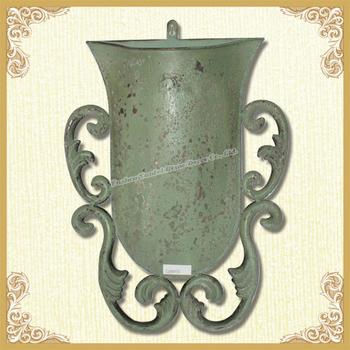 Wall Mounted Flower Pot Metal Wall Flower Pot Holder Buy