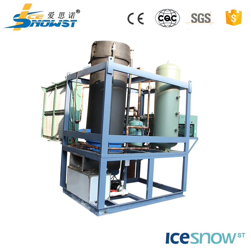 Durable evaporatively cooled crushed ice maker portable low price