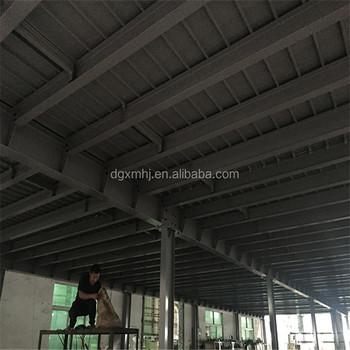 bâtiment en acier avec mezzanine structure mezzanine plate-forme