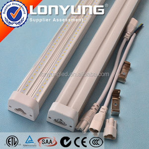 AC100-277V 2ft-8ft 8w-60w t5 double fluorescent lamp fixture with reflector T5 LED Integrative Double Tube