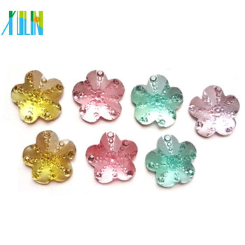 XULIN DIY jewelry accessories frost surface resin stone beads