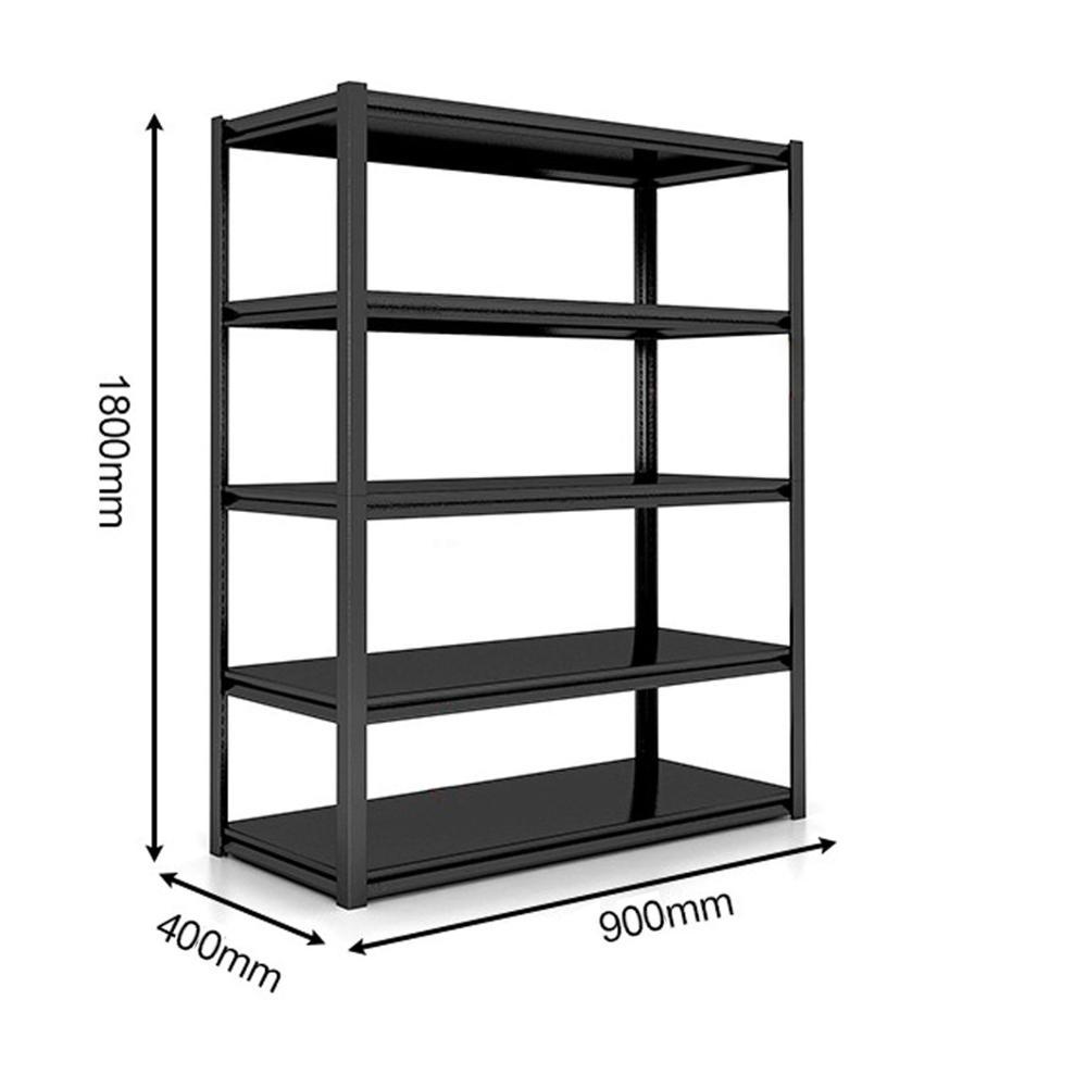 調整可能な簡単インストール産業 4 層棚金属棚ラック