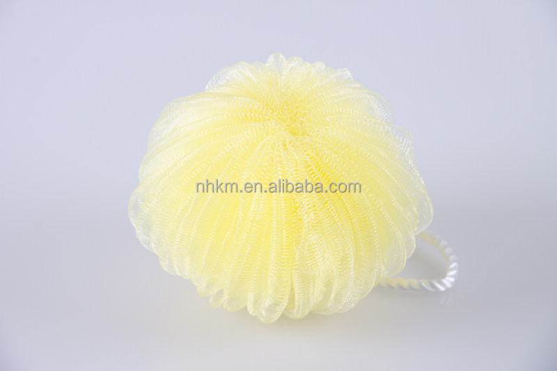 Promotional Gifts alibaba china low price flower mesh bath sponge