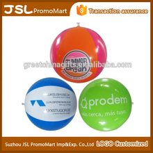 Customized giant inflatable water beach ball with logo printing