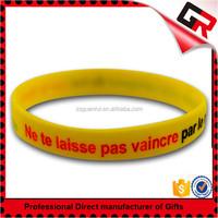oem fashion christian rubber silicone bracelet