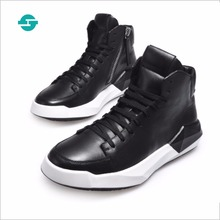 2017 New fashion men's casual shoes men's loafers genuine leather casual shoes