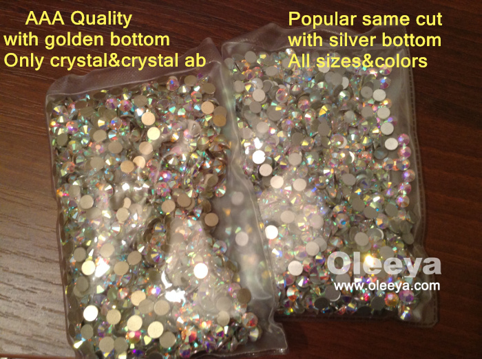 Factory Over 80 Colors Nail Art Flatback Non Hotfix Rhinestones SS20 Crystal AB Christmas Nail Designs with Rhinestones