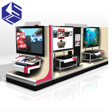 Modern TV stand design wooden display stand electrical production tv showcase