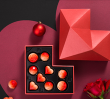 Custom luxury red black 판지 빈 스퀘어 (times square) 다이아몬드 <span class=keywords><strong>포장</strong></span> gift 봉봉 sweet candy heart shape chocolate box 대 한 애호가