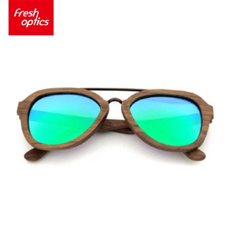 Venta al por mayor gafas de sol de marco de madera-Compre online los ...