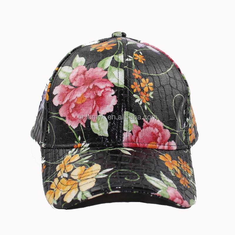 black leather baseball cap wholesale imitation with fur pom faux