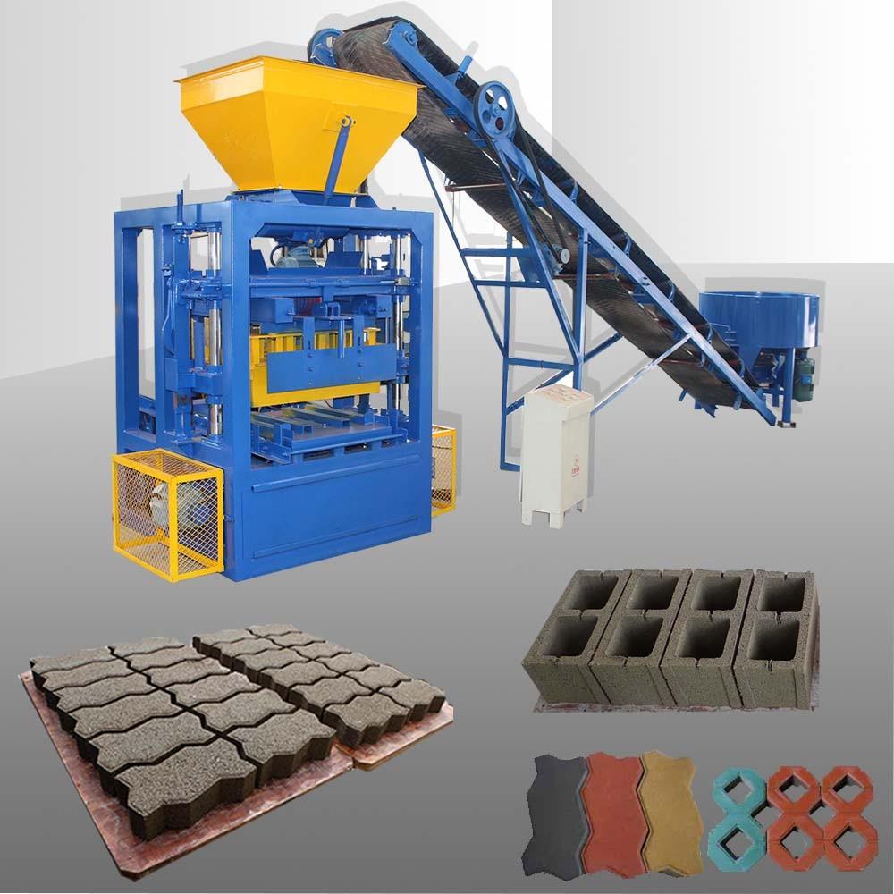 Hot Concrete Cement Block Making Machine Buy Qtj4 26