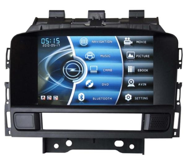 2 din all in one car gps navigation system for opel new. Black Bedroom Furniture Sets. Home Design Ideas