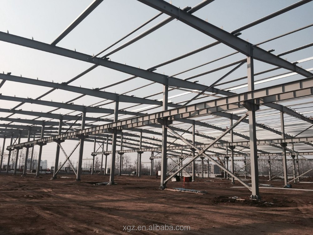 Luxury prefabricated warehouse