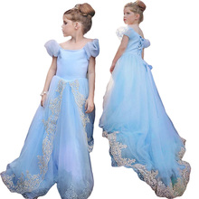 Free shipping+retail, new 2015  Elsa Anna costume princess dress sequined cartoon costume Free shipping girls dresses.