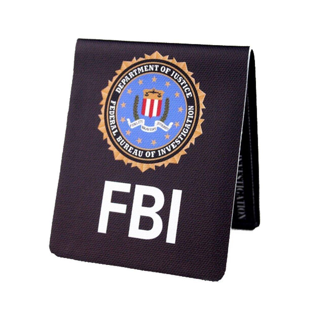 b6b0ae69600 Get Quotations · Fashion Creative Hand Making FBI Style Bifold Wallet Purse