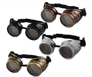 636071681e 4 Colors Sunglasses Sun glass Eyewear Goggles Steampunk Glasses Cosplay  Vintage Sunglasses steam punk goggles