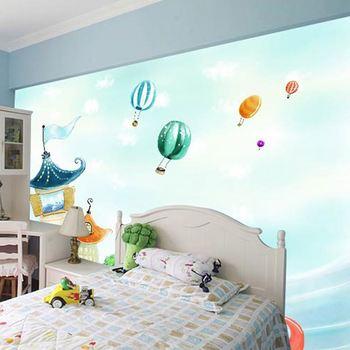 Beautiful Cartoon Pink Big Flower Wallpaper For Kids Bedroom 3d Wall Paper    Buy Beautiful Bedroom Wallpaper,Big Flower Wallpaper,Wallpaper Kids Room  ...