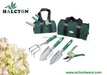 5Pcs portable garden Tool Set/multi garden tool bag