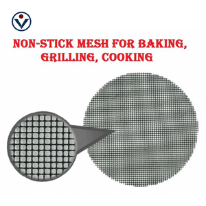 Ptfe Coated Safety Food Grade Non-Stick Stainless bbq Grill Mesh