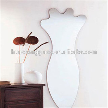 High Quality Hebei Shahe Huacheng Aluminum&Silver Mirror Glass Decorative Furniture