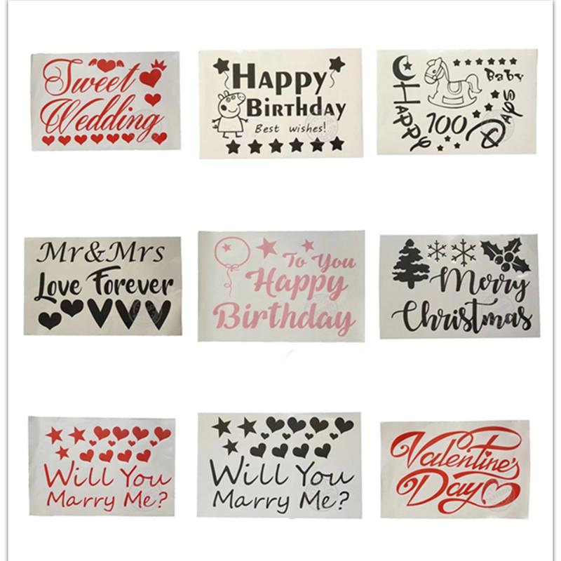 Partigos Diy Kertas Surat Stiker Jelas Transparan Gelembung Balonbalon Lateks Pernikahanhari Valentine Party Balon Dekorasi Buy Jelas Gelembung