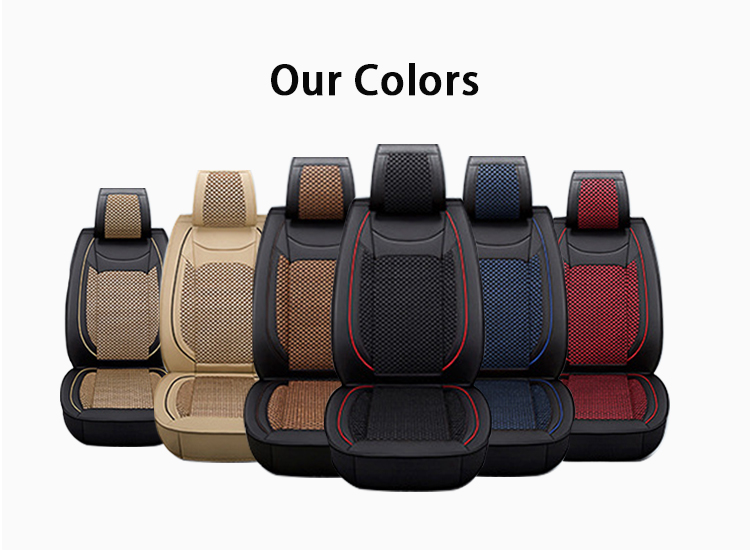 ZT-BS-023 Best place to buy black and purple removable rear and front car seat covers