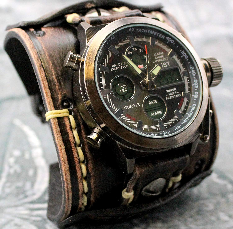 1c235b464 Cheap Wide Leather Cuff Watch Bands, find Wide Leather Cuff Watch ...