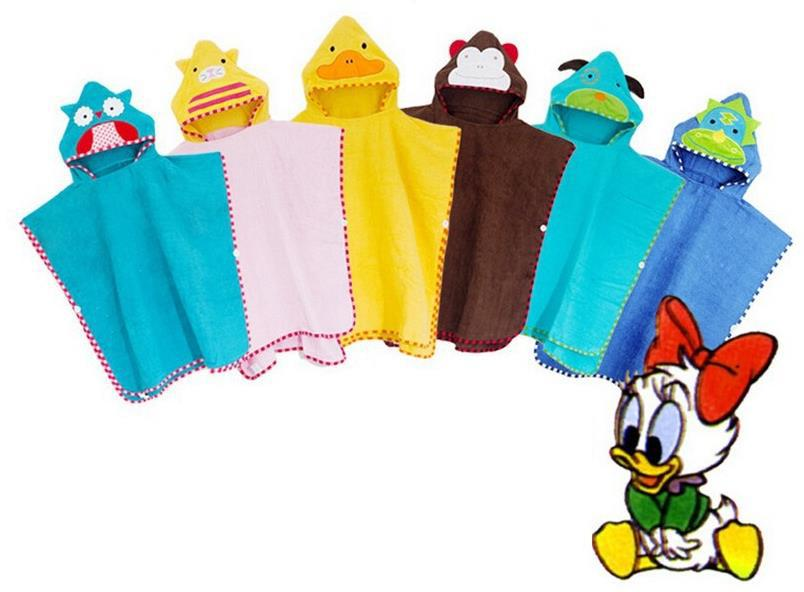 get quotations cute cartoon animal towel hooded baby towel cotton bath towel toalhas de banho beach swim - Cheap Beach Towels