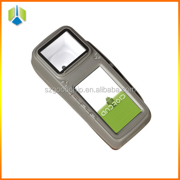 "Android 4.3"" touch screen bus ticket pos with in-built receipt thermal printer RFID MSR card reader 3G GC028+"