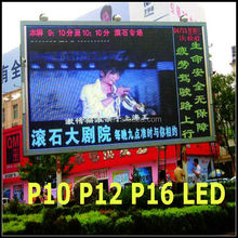 outdoor led digital signage panel video tekst p10 960x960 kabinet full color led scherm