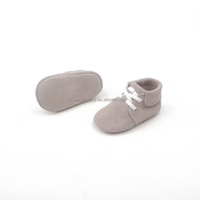 Baby Boys and Girls Leather Barefoot Shoes