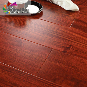 Red Cherry Wood Oak Laminate Flooring Cl32 Ac4 China Manufacturer Made In Belgium 8mm 7mm